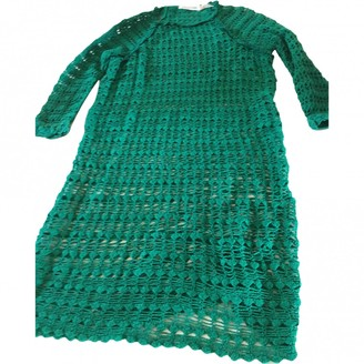 Etoile Isabel Marant Green Cotton Dresses