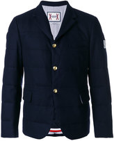 Moncler Gamme Bleu flap pockets padded jacket