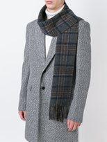 Polo Ralph Lauren plaid knit scarf