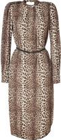 By Malene Birger Brown Leopard Dress
