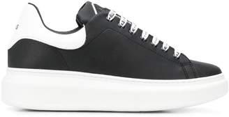 Gaelle Bonheur two tone low top sneakers