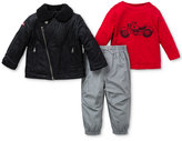 Little Me Baby Boy 3-Pc. Motorcycle Set