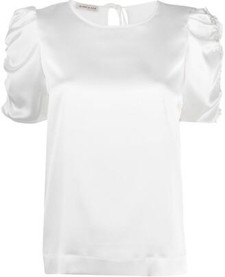 Blanca Vita Ruffle Sleeve Top