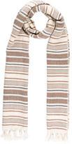 Isabel Marant Cashmere & Silk Striped Scarf