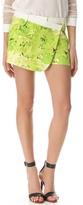 Daisies Draped Shorts