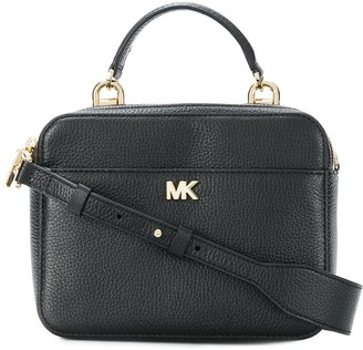 MICHAEL Michael Kors Logo Plaque Top-Handle Bag