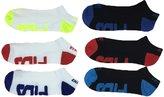 Fila Men Socks - Shocky Dry Low Cut Assorted 6 Packs