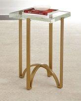 Hooker Furniture Kingman Glass-Top Side Table