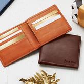NV London Calcutta Personalised Men's Leather Billfold Wallet