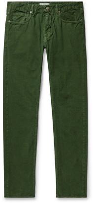Incotex Slim-Fit Stretch Cotton-Corduroy Trousers