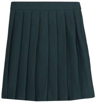 French Toast Girls School Uniform Adjustable Waist Mid Length Pleated Skirt, Sizes 4-20