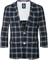 GUILD PRIME three-quarter sleeve blazer