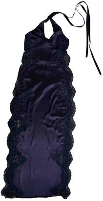 Agent Provocateur Purple Silk Dresses