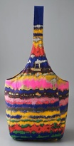 Halston Heritage Tie Dye Sac Bag