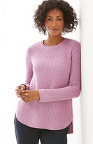 J. Jill Mixed-Stitch Pullover