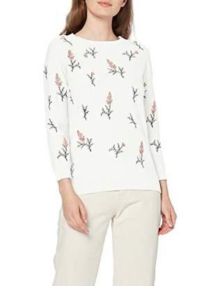 Tom Tailor Women's Blumenprint Sweatshirt,S