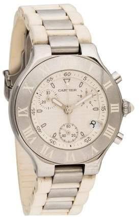 Cartier Must de Chronoscaph Watch