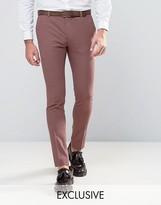 Heart & Dagger Super Skinny Suit Trouser In Summer Dogstooth