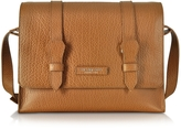 The Bridge Embossed Leather Messenger