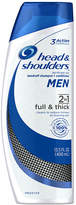 Head & Shoulders Men Full & Thick 2in1 Dandruff Shampoo + Conditioner