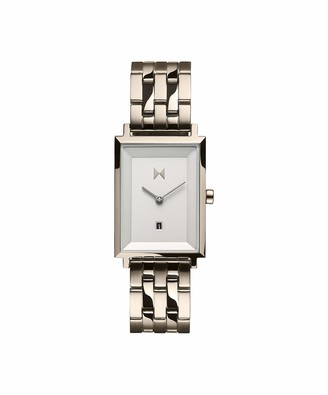 MVMT Women's Analogue Quartz Watch with Gold Tone Stainless Steel Strap 28000068-D