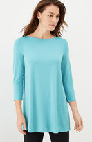 J. Jill Wearever Pleated-Back Tunic