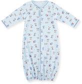 Kissy Kissy Sweater Weather Convertible Sleep Gown, Light Blue, Size Newborn-Small