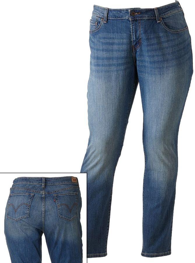 Levi's skinny jeans - women's plus