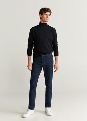 MANGO Turtleneck cotton t-shirt