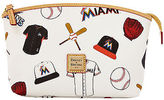 Dooney & Bourke MLB Marlins Cosmetic Case