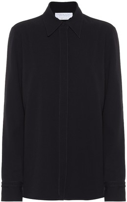 Gabriela Hearst Cruz wool and silk shirt