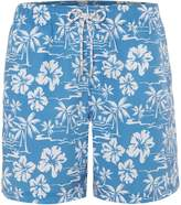 Howick Men's Hawaiian Palm Tree Print Swim Short