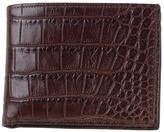 Moore & Giles Alligator Leather Bi-Fold Wallet