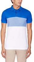 French Connection Men's Colorful Ombre Pique Polo
