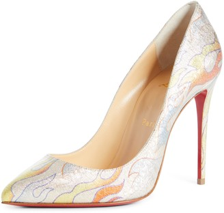 Christian Louboutin Pigalle Flame Pointed Toe Pump
