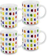 Konitz Splash of Color 4-pc. Mug Set