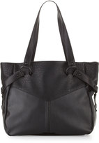 French Connection Kate Faux-Leather Tote Bag, Black