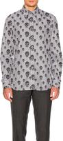 Alexander McQueen Skull Print Shirt