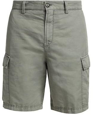 Brunello Cucinelli Linen-Blend Cargo Shorts