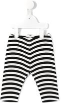 Fendi striped leggings