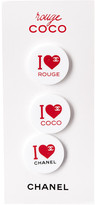 Chanel Acrylic I Heart Coco Magnet Set
