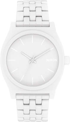 Nixon Time Teller White Watch