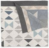 Elegant Baby Bow Tie Knit Blanket