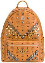 MCM studded large backpack