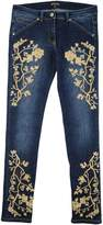 Roberto Cavalli Denim pants - Item 42463197