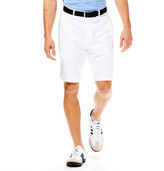 Haggar Cool 18 Shorts - Classic Fit, Flat Front, Expandable Waist