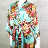 Etsy Personalized Bridal Party Robes / Monogram Robes / Floral Bridesmaid Robe / Bridesmaid Robes / Wed