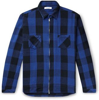 Nonnative Worker Checked Cotton-Twill Shirt Jacket