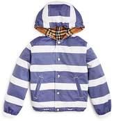 Burberry Boys' Mayer Hooded Reversible Jacket - Little Kid, Big Kid