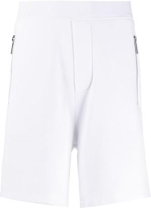 DSQUARED2 Zipped-Pocket Track Shorts